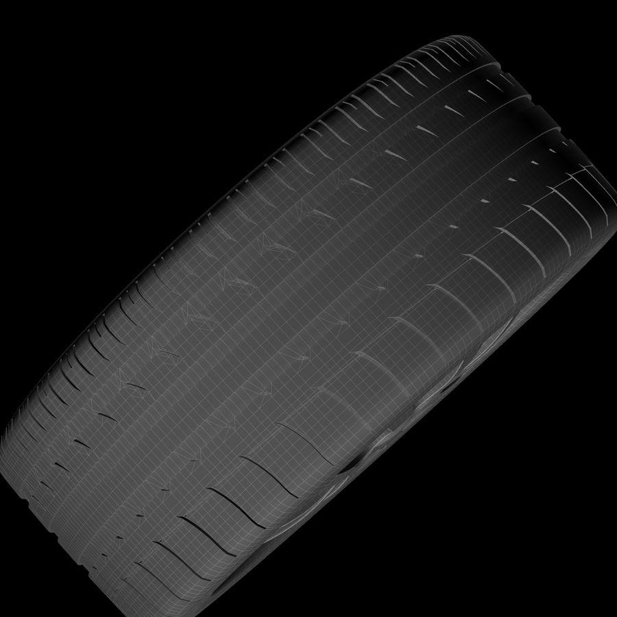 Michelin Asanti Wheel royalty-free 3d model - Preview no. 10
