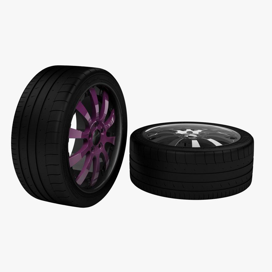 Michelin Asanti Wheel royalty-free 3d model - Preview no. 1