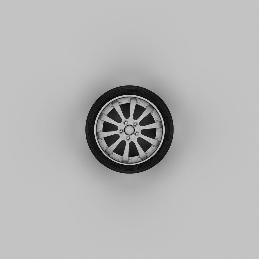 Michelin Asanti Wheel royalty-free 3d model - Preview no. 3