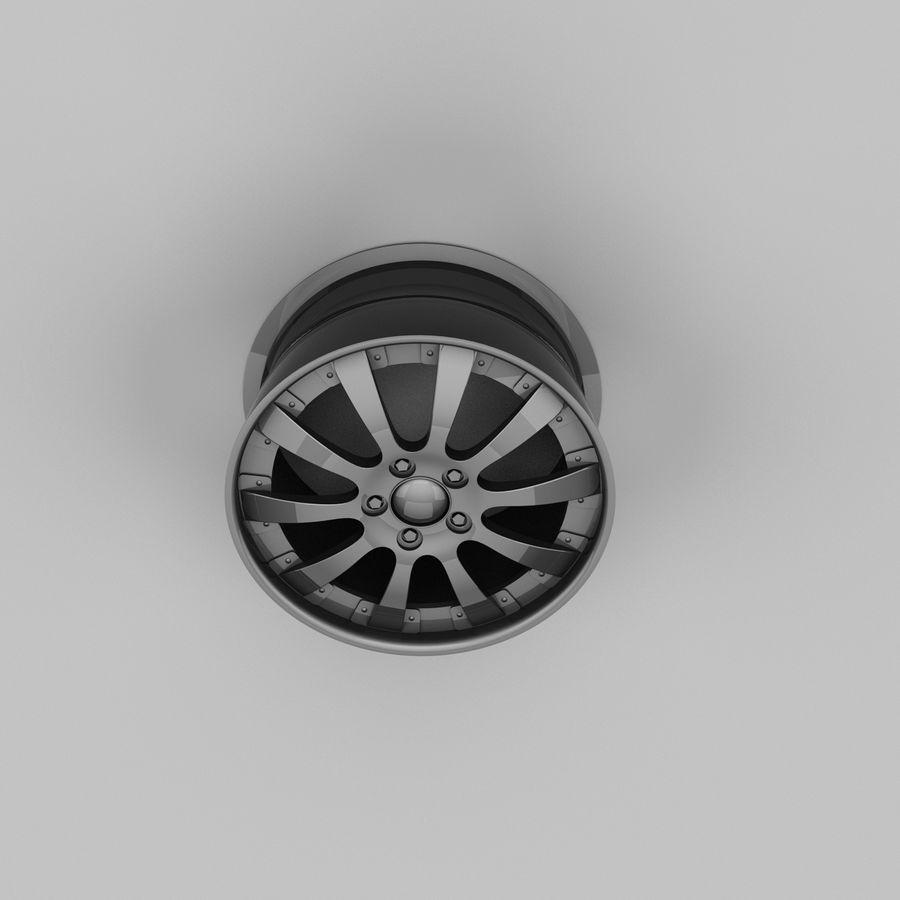 Michelin Asanti Wheel royalty-free 3d model - Preview no. 7