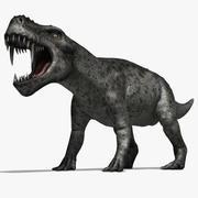 Gorgonops 3d model