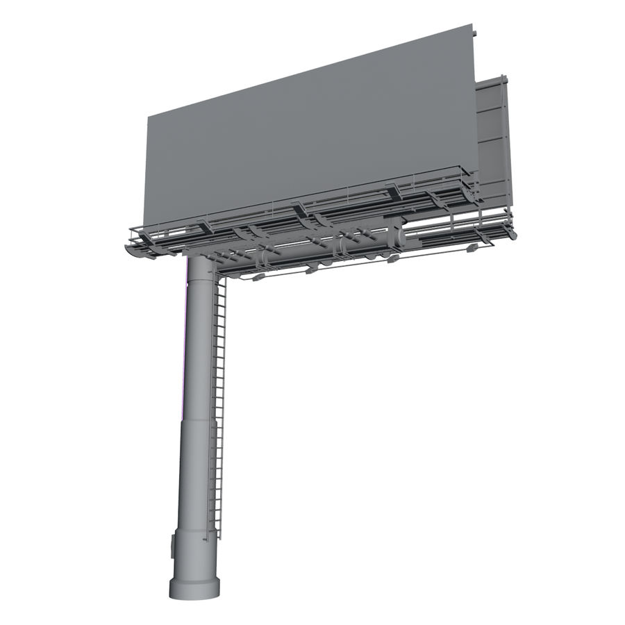 Billboard royalty-free 3d model - Preview no. 6