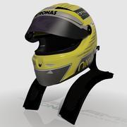 Nico Rosberg 2013 Helmet 3d model