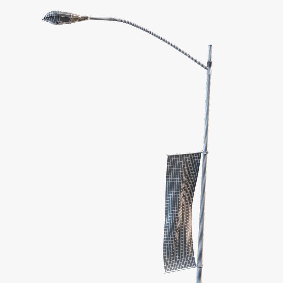 Lâmpada de rua da cidade royalty-free 3d model - Preview no. 5