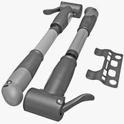 Portable Bicycle Air Pump Set 3d model