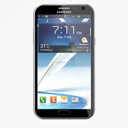 Samsung Galaxy Note 2 modelo 3d
