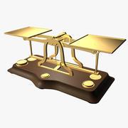 Balanças antigas 3d model