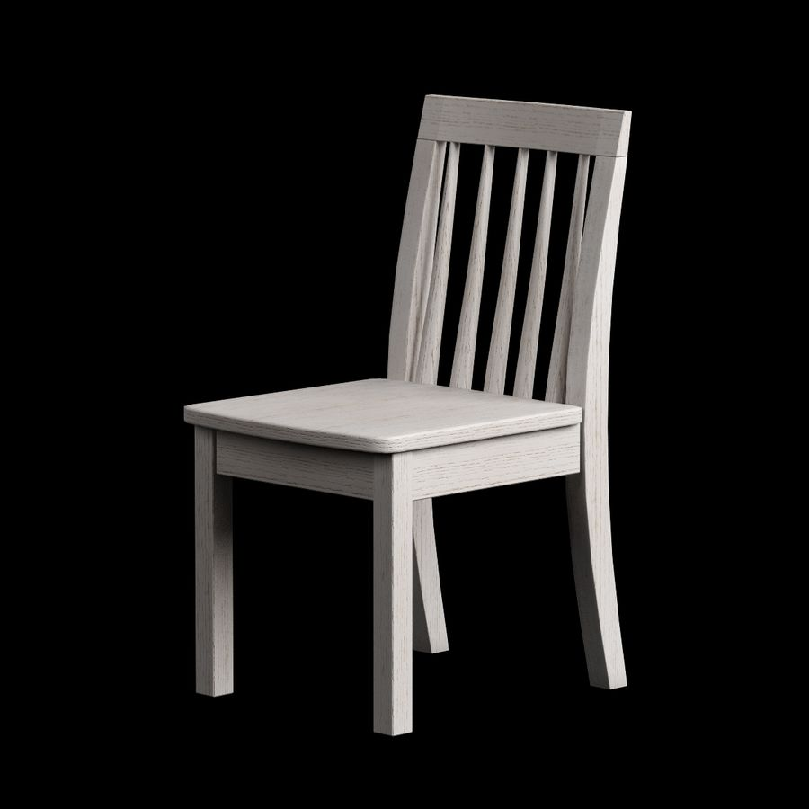 Children Chair 008 royalty-free 3d model - Preview no. 2