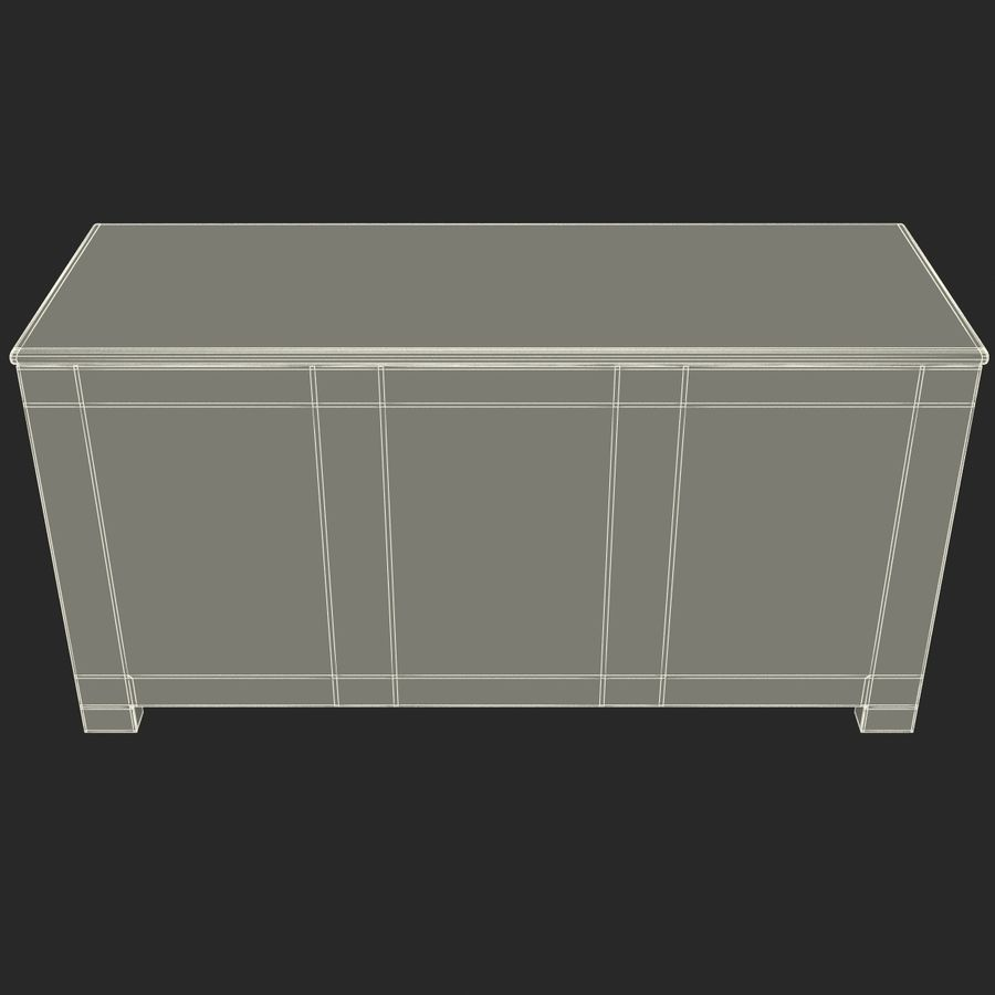 buffet royalty-free 3d model - Preview no. 16