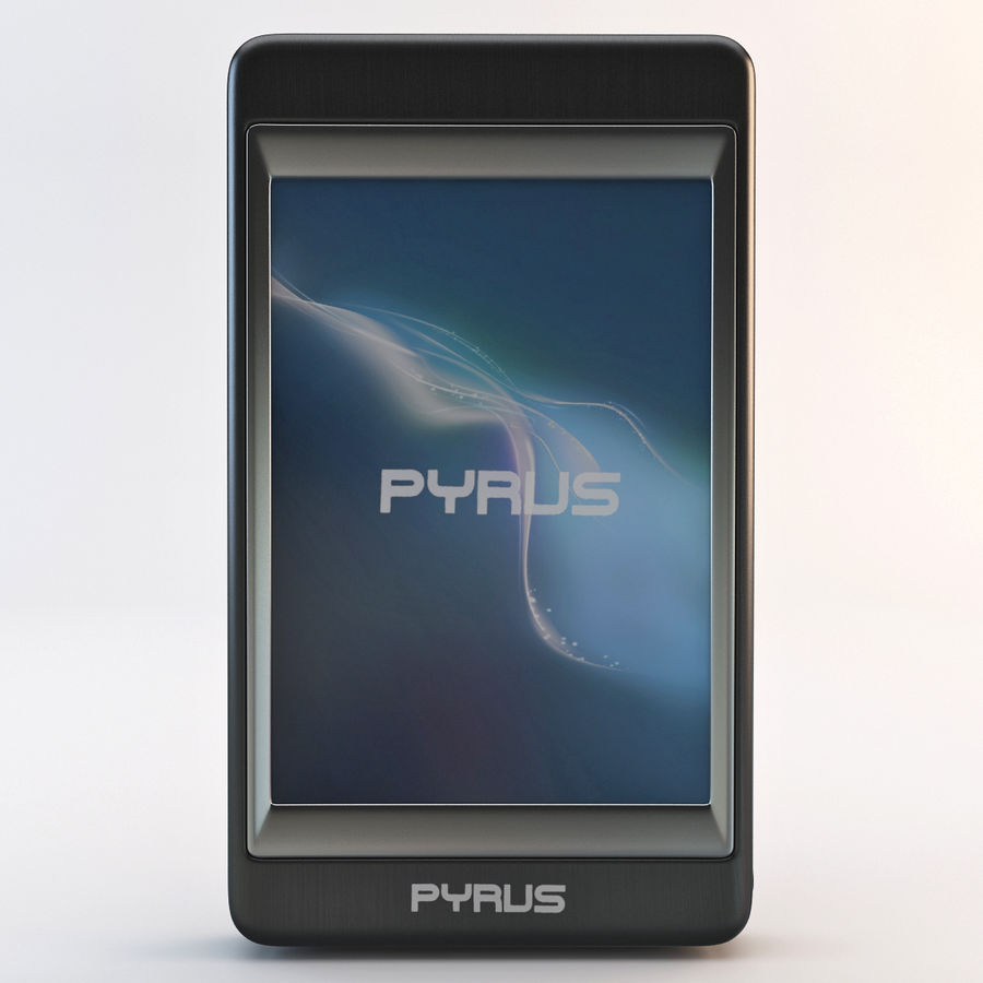 Mp3 Player Pyrus Electronics royalty-free 3d model - Preview no. 3