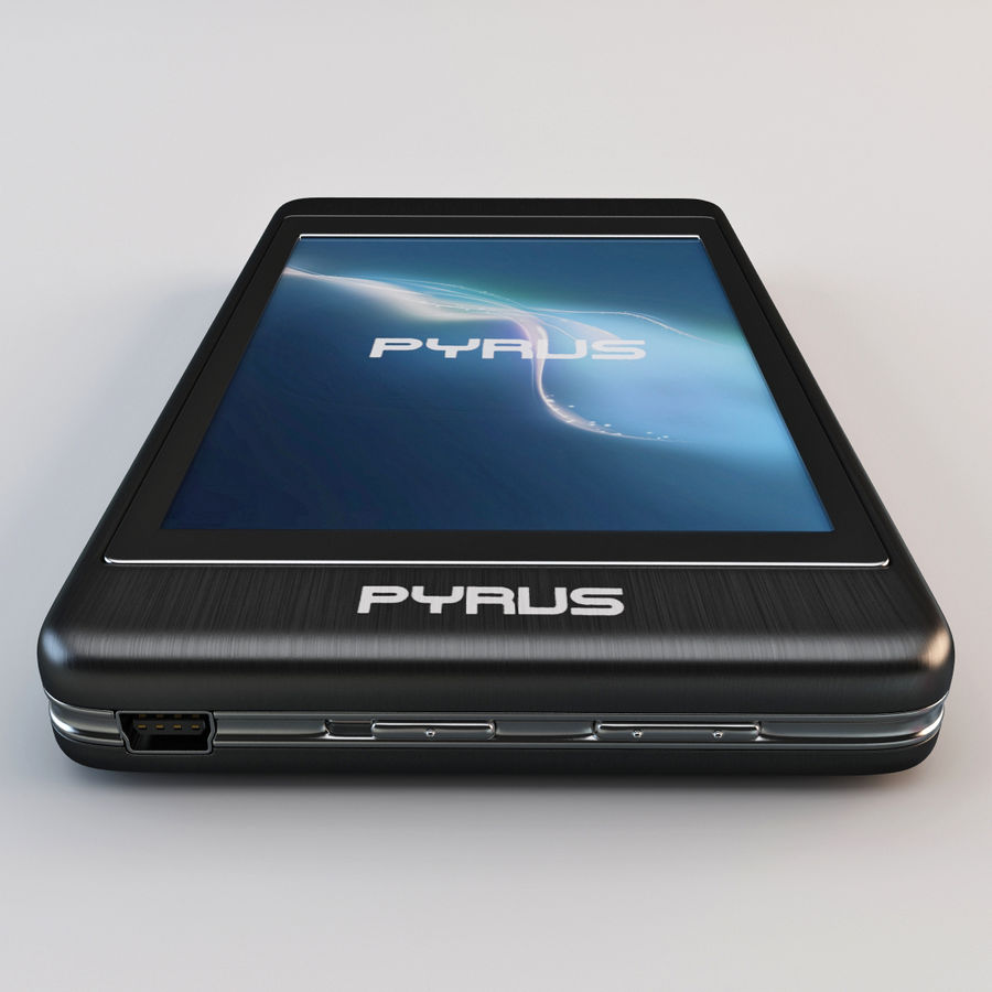 Mp3 Player Pyrus Electronics royalty-free 3d model - Preview no. 6