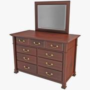 Dresser Bureau 3d model
