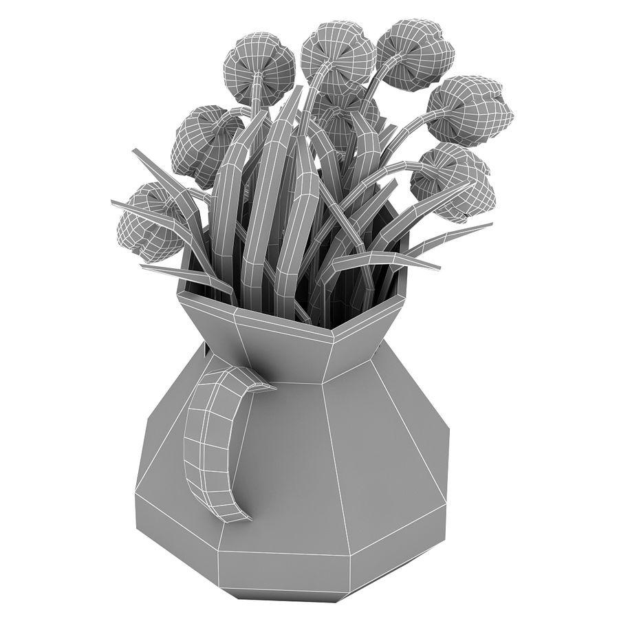 Fleurs de tulipes royalty-free 3d model - Preview no. 24