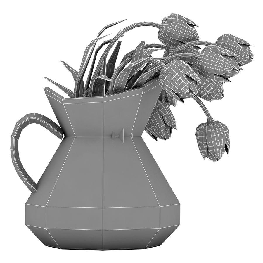 Fleurs de tulipes royalty-free 3d model - Preview no. 18