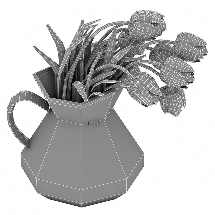 Fleurs de tulipes royalty-free 3d model - Preview no. 19