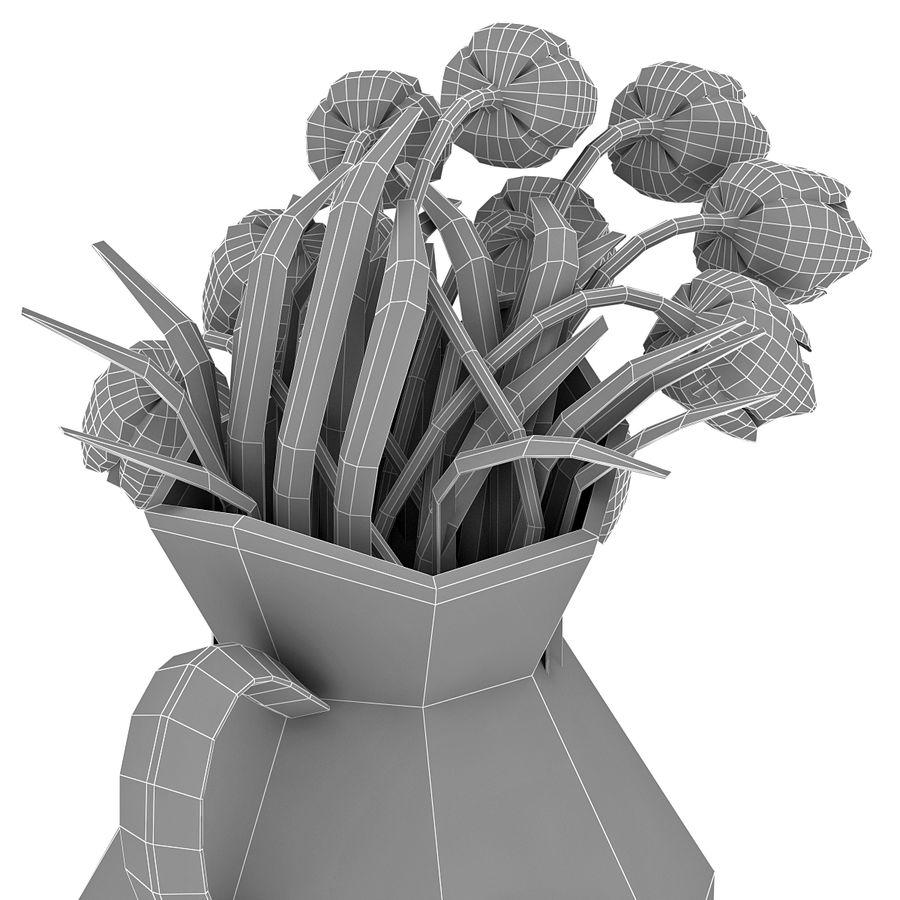 Fleurs de tulipes royalty-free 3d model - Preview no. 25