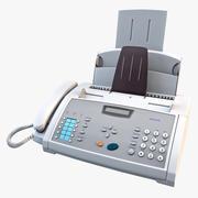 Aparelho de fax oef518e 3d model