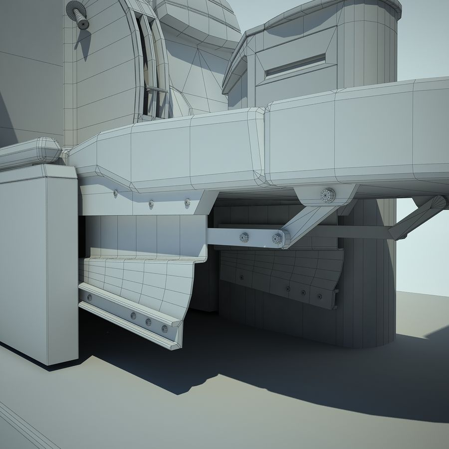 Seat Airplane Business Class 01 royalty-free 3d model - Preview no. 14