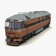 Locomotora 02 modelo 3d