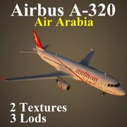 A320 ABY 3d model