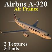 A320 AFR 3d model