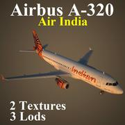 A320 AIC modelo 3d