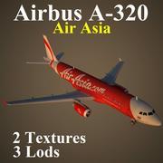 A320 AIQ 3d model