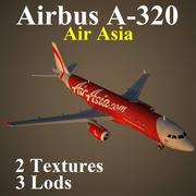 A320 AWQ modelo 3d