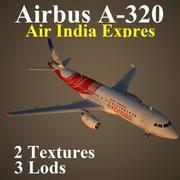 A320 AXB 3d model