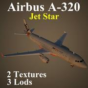 A320 JSA modelo 3d