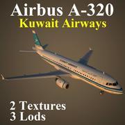 A320 KAC 3d model