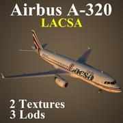 A320 LRC modelo 3d