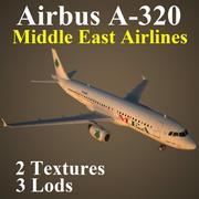 A320 MEA modelo 3d