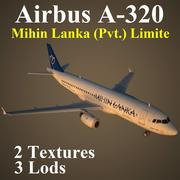 A320 MLR modelo 3d