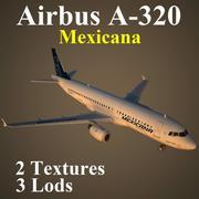 A320 MXA 3d model