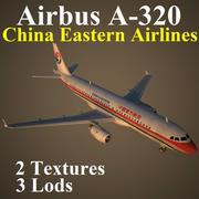 A320 CAL modelo 3d