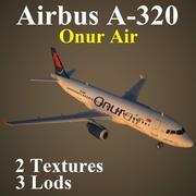 A320 OHY modelo 3d