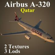 A320 QTR 3d model