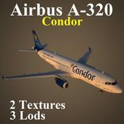 A320 CFG 3d model