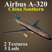 A320 CSN 3d model