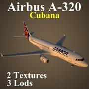 A320 CUB 3d model