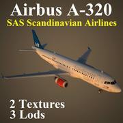 A320 SAS 3d model