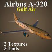 A320 GFA 3d model