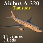 A320 TAR modelo 3d