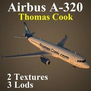 A320 TCX 3d model
