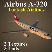 A320 THY modelo 3d
