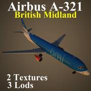 A321 BMA 3d model