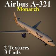 A321 MON 3d model