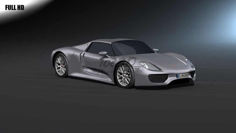918 royalty-free 3d model - Preview no. 1
