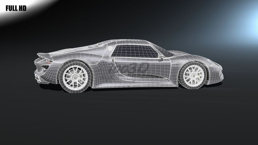 918 royalty-free 3d model - Preview no. 7